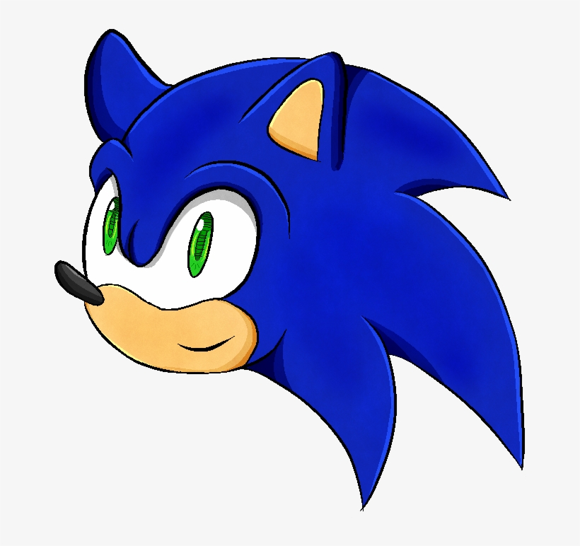 Sonic Head Png Sonic Head 1024x768 Png Download Pngkit