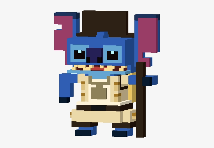 Earth Day Stitch Disney Crossy Road Elvis Stitch 404x487 Png Download Pngkit