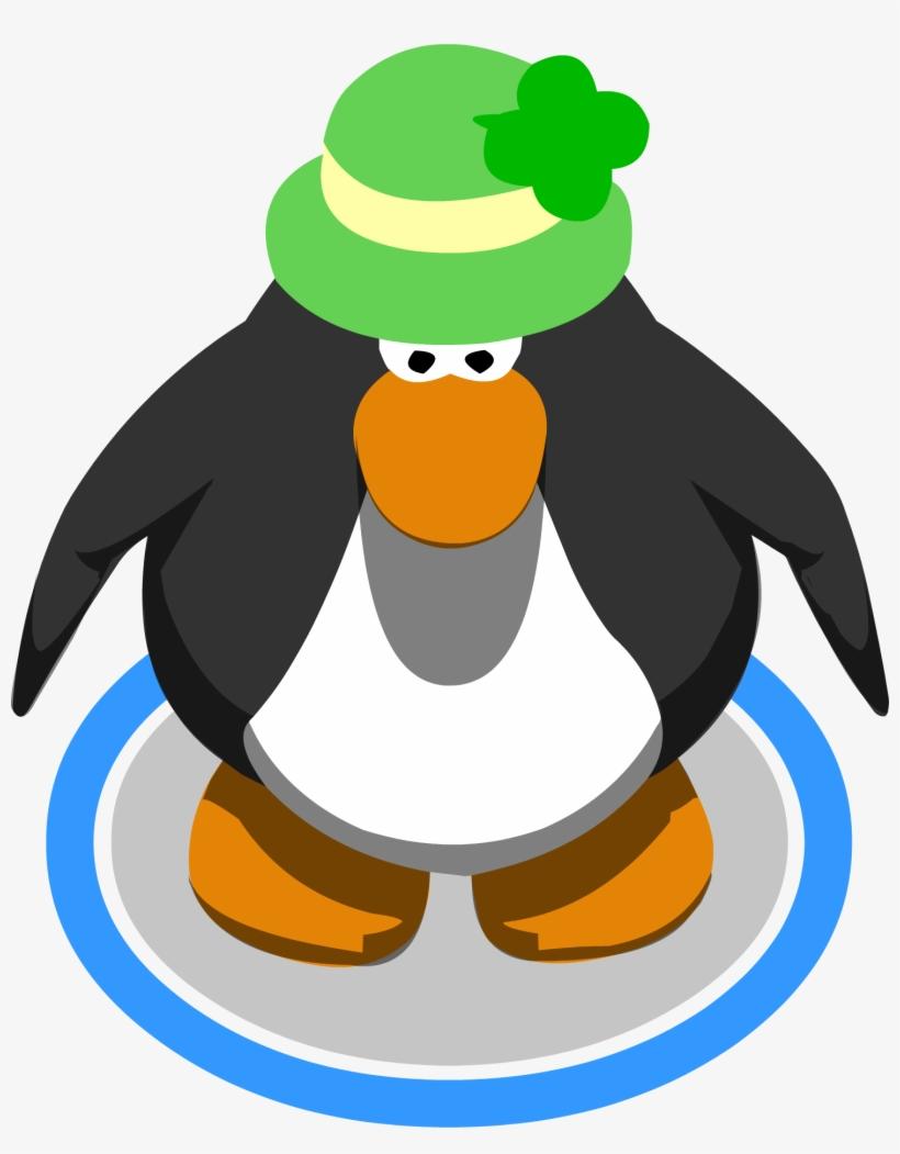 7315169c416c6 Shamrock Hat Penguin - Red Penguin Club Penguin - 1482x1829 PNG ...