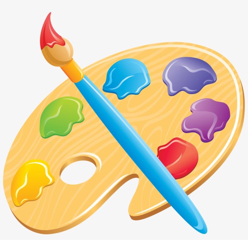 Art Color Palette Art Clip Art 1349x1241 Png Download Pngkit