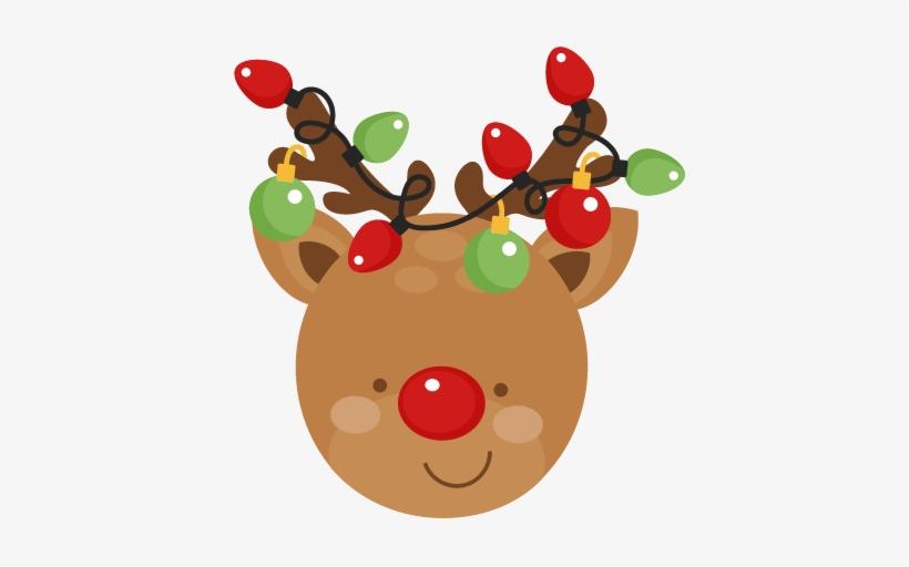 Reindeer Christmas Svg Scrapbook Cut File Cute Clipart - Cute Christmas  Reindeer Clipart - 432x432 PNG Download - PNGkit