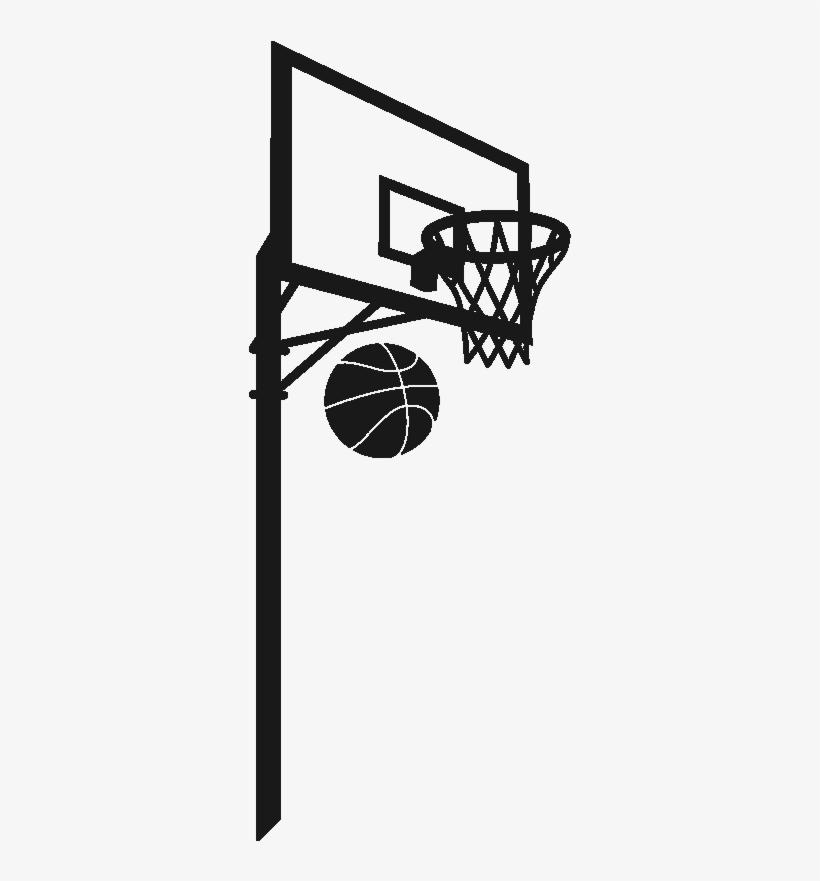 Ros Basketball Hoop1 Panier De Basket Dessin 800x800 Png
