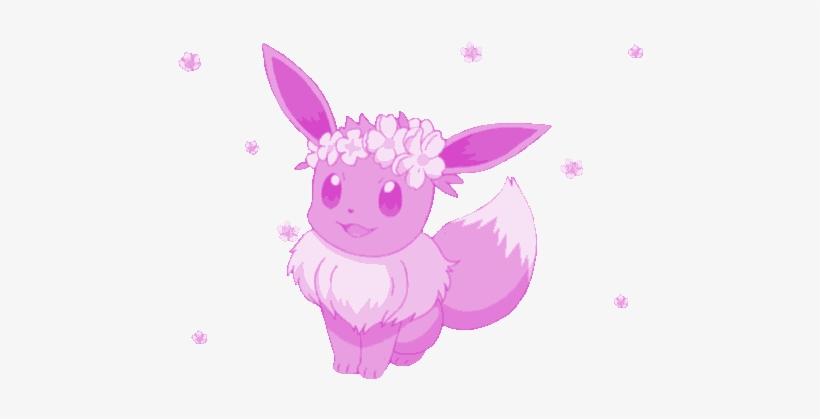 Sakura Cherry Pokemon Eevee Aesthetic Tumblr Cute Aesth