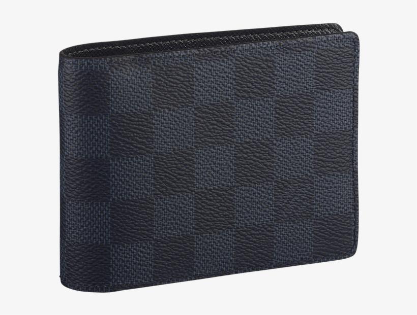 Miney Clip Louis Vuitton Svg Free Library Multiple Wallet Damier Cobalt 600x541 Png Download Pngkit