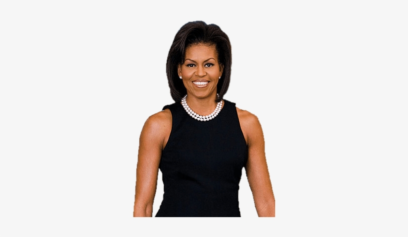 Celebrities - Michelle Obama Net Worth - 300x400 PNG