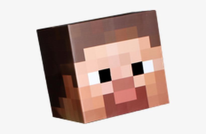 Photo Minecraft Steve Head Transparent 530x456 Png Download Pngkit