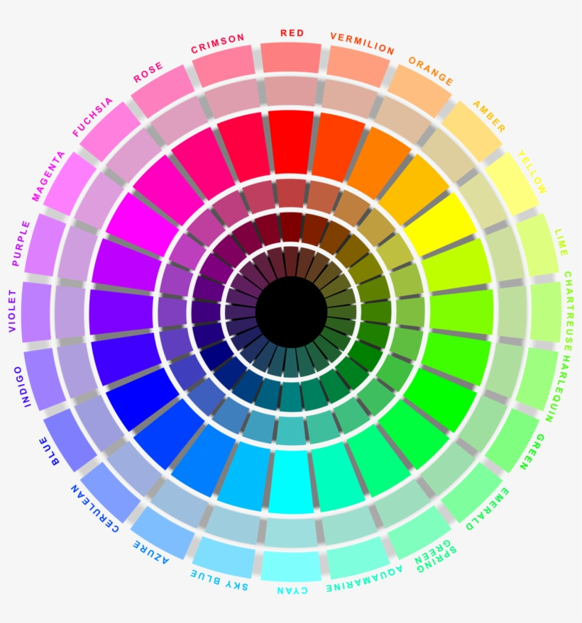 Rgb Color Wheel Hoodiepatrol Draw Step Pinterest Png Color Circle 24 Colors 1024x1024 Png Download Pngkit
