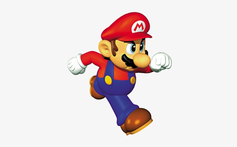 N64 Mario Running Render By Kingbilly97-db05dz7 - Super Mario 64