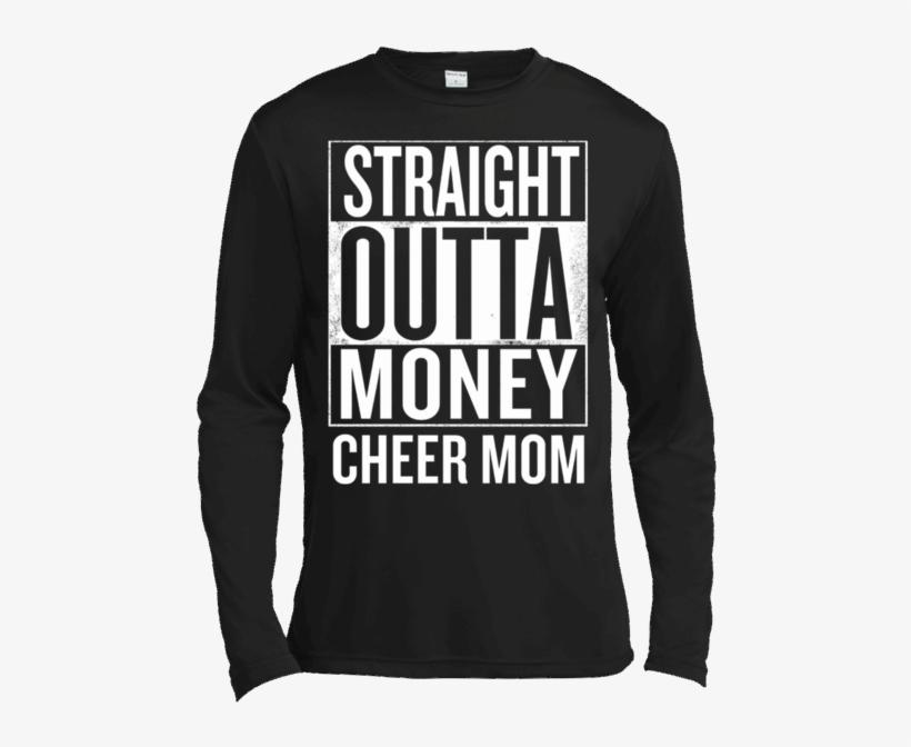 91b90aa8 Straight Outta Money Cheer Mom Funny Meme T Shirts - Straight Outta Hunter  College T-shirt