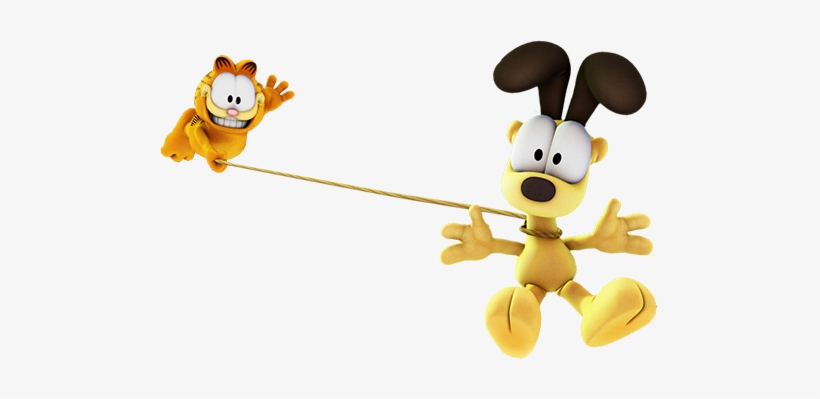 Garfield Show Odie Garfield Play Garfield And Odie Show 500x319 Png Download Pngkit