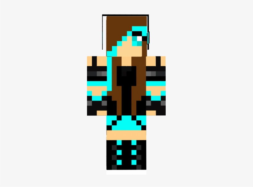 Minecraft Skins For Girls Minecraft Skins With Brown Hair Girl 255x526 Png Download Pngkit