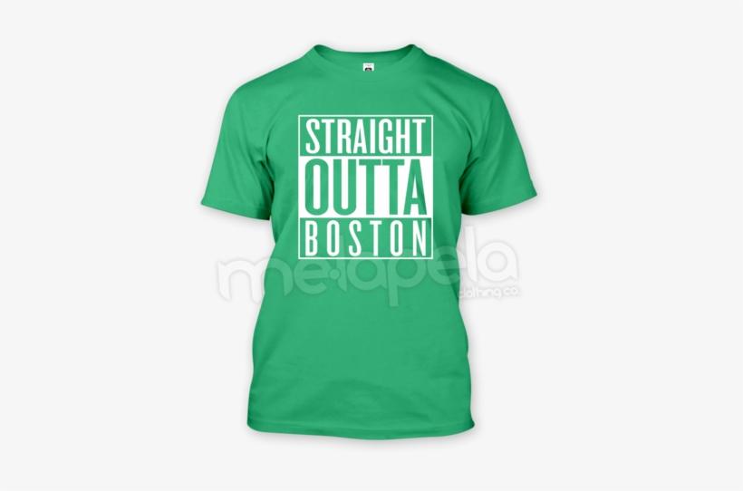 168efc97 Straight Outta Boston T-shirt - Ale 8 One T Shirt - 408x480 PNG ...