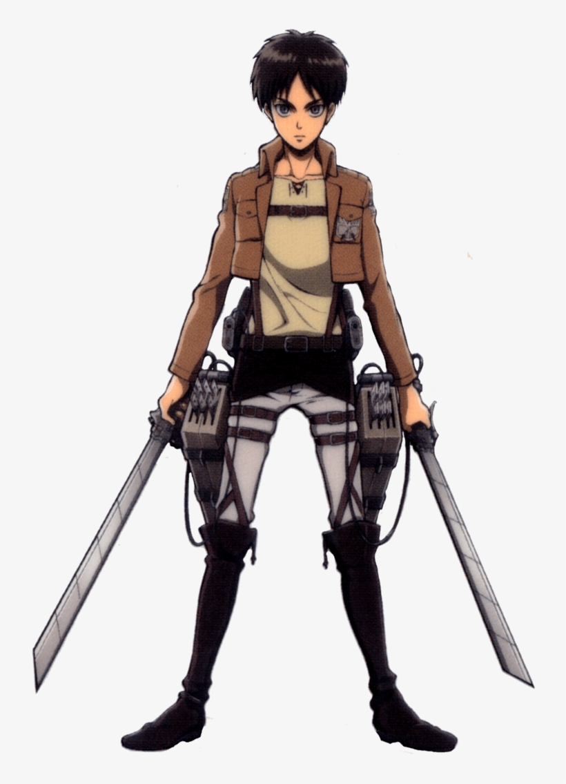 Attack On Titan Eren Human 756x1056 Png Download Pngkit