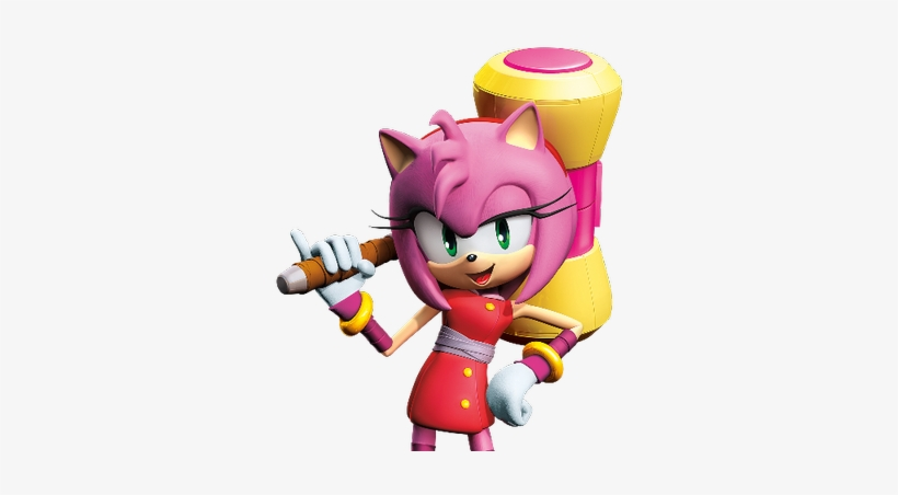 Amy Rose Amy Rose Sonic Boom Drawing 400x400 Png Download Pngkit