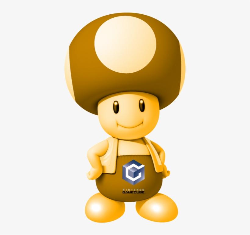 Nintendo Gamecube Toad Super Mario Bros Png Toad 590x721 Png