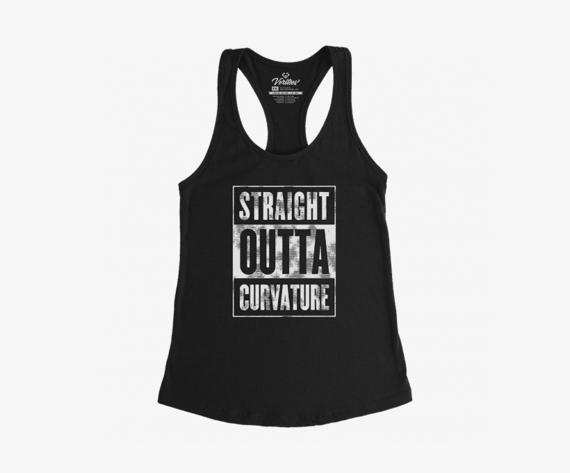 14355248 Straight Outta Curvature Racerback Tank - Top, transparent png. AddThis  Sharing Buttons. Share to ...