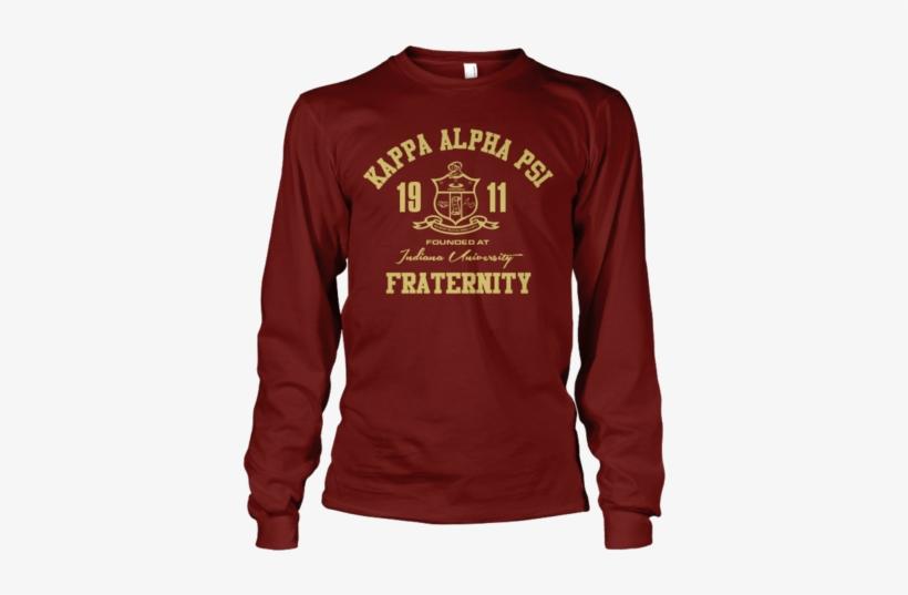 Kappa Alpha Psi Roots Long Sleeve T-shirt - 2nd And 26
