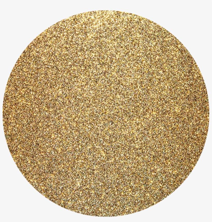 Kpop Glitter Gold Background Golden Circle Shapecrop