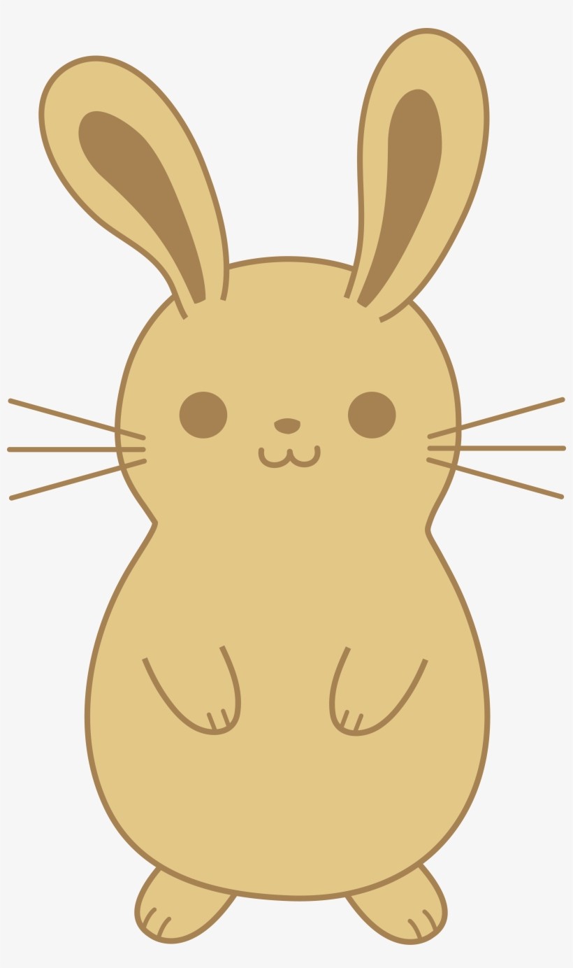 - Cute Brown Bunny Rabbit - Cute Bunny Drawing Png - 3250x5328 PNG