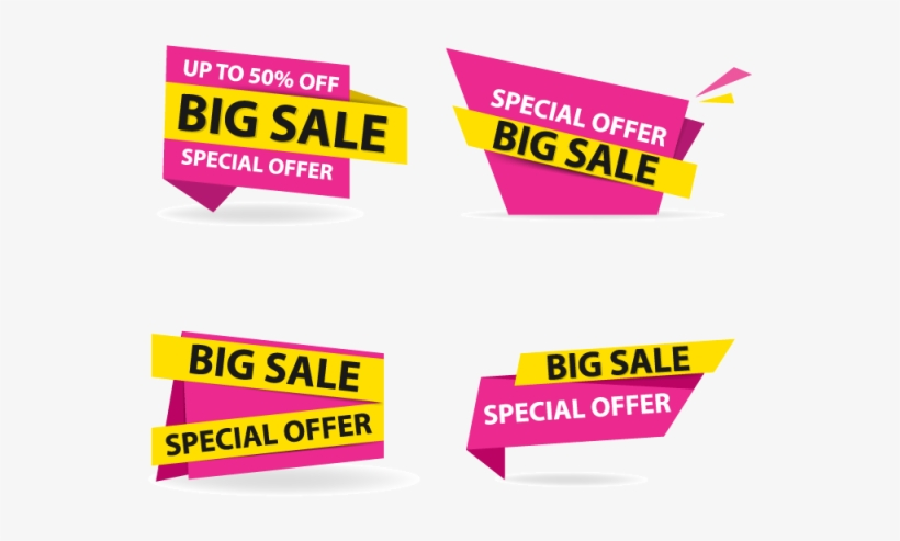 Label Vector Background Design - Advertising - 640x640 PNG