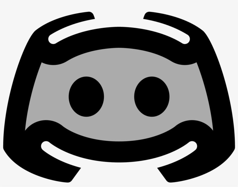 Logo Discord Icon Black Discord Logo Png 1600x1600 Png
