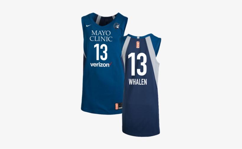 c96f39a14128b3 Minnesota Lynx Lindsey Whalen Authentic Nike Home Jersey - New Verizon
