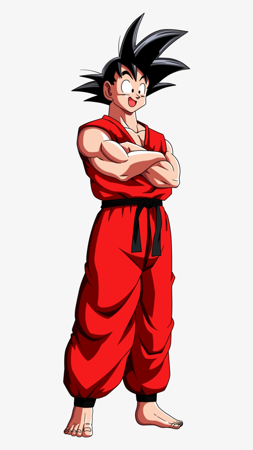 Goku Clipart Akira Toriyama Dragon Ball Goku Joven 575x1387 Png Download Pngkit