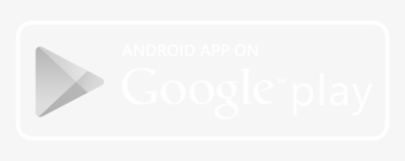 Android App Store Button White - Play Store Black And White