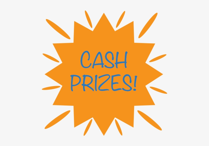 Vector Royalty Free Library Cash Prize Clipart - Monthly