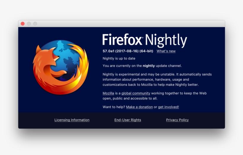 Florens Verschelde On Twitter - Firefox Nightly Windows 7 - 1200x713