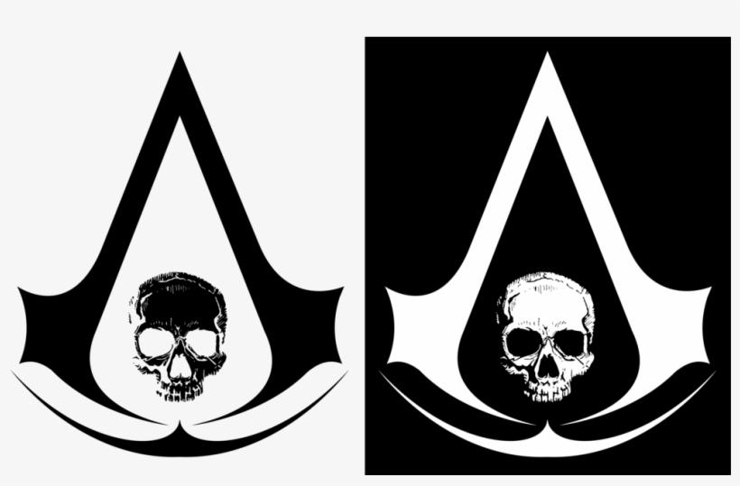 Transparent Stock Assassin S Creed Black Flag Skull Assassins