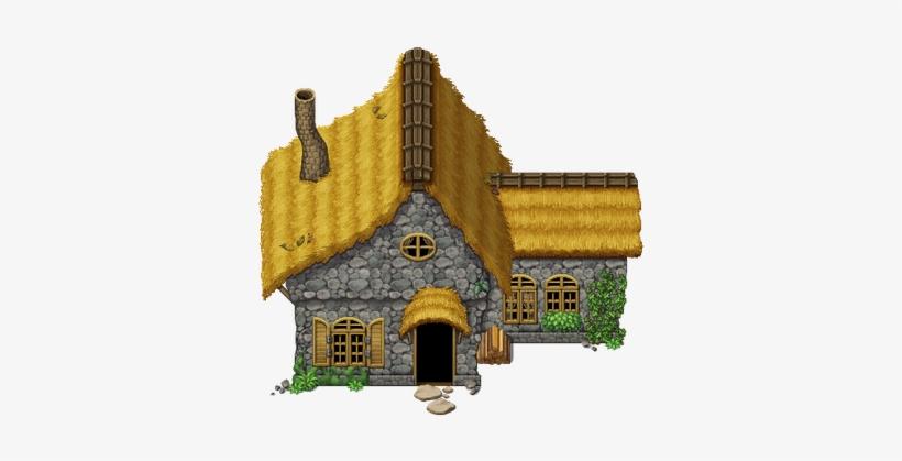 Mv Cottage By Schwarzenacht - Tileset Medieval Rpg Maker Vx