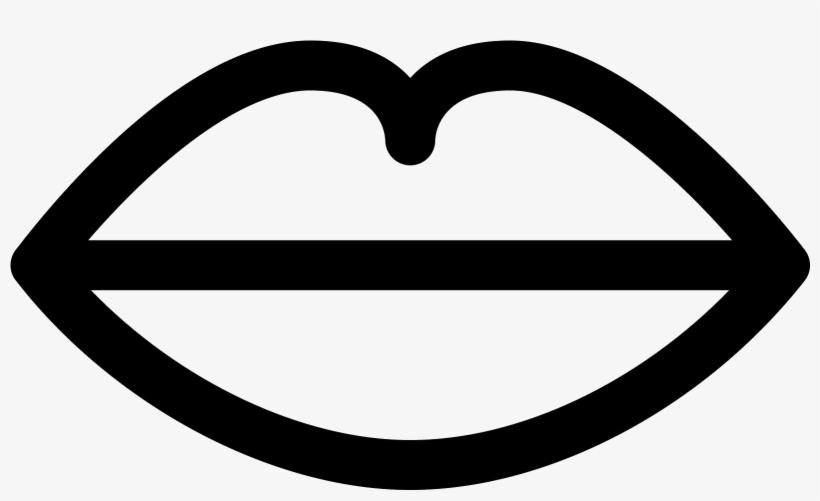 This Image Is Of Human Lips Gambar Bibir Hitam Putih 1600x1600 Png Download Pngkit