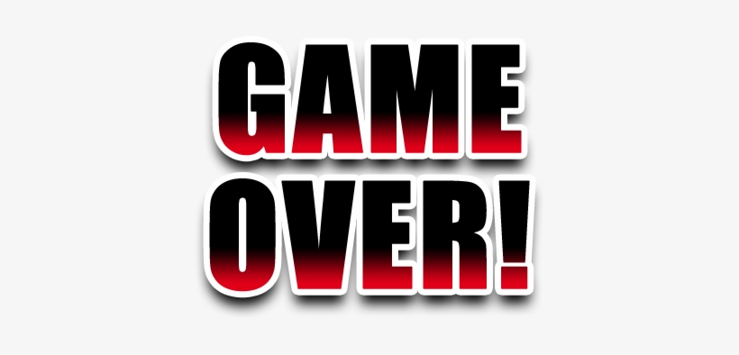 Game Over Sprite Transparent 388x314 Png Download Pngkit