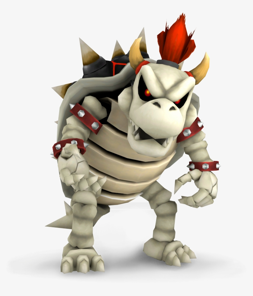 Dry Bowser Png Vector Black And White Stock Bowser Echo
