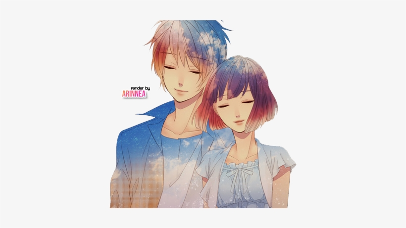 Cute Couple Png Anime Couple Render By Arinnea D6vbrsu Cute Anime Couple Png 500x380 Png Download Pngkit
