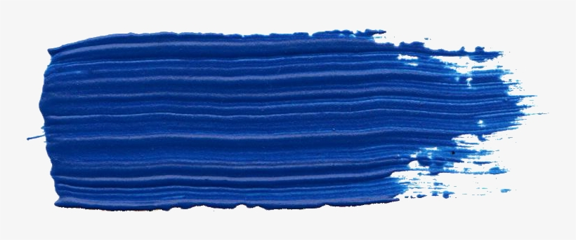 Free Download Blue Paint Stroke Png 744x263 Png Download Pngkit