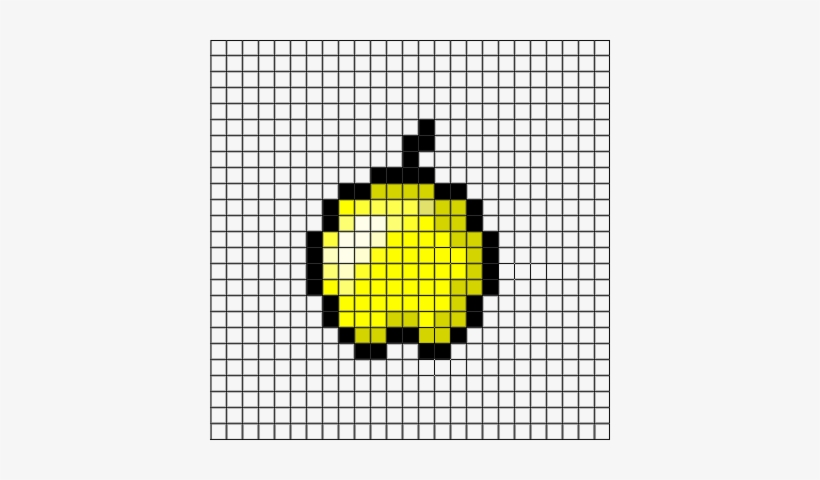 Grid Clipart Minecraft Golden Apple Minecraft Png 400x400 Png Download Pngkit