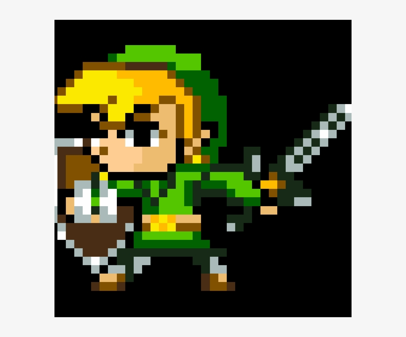 Link Zelda 16 Bit 600x600 Png Download Pngkit