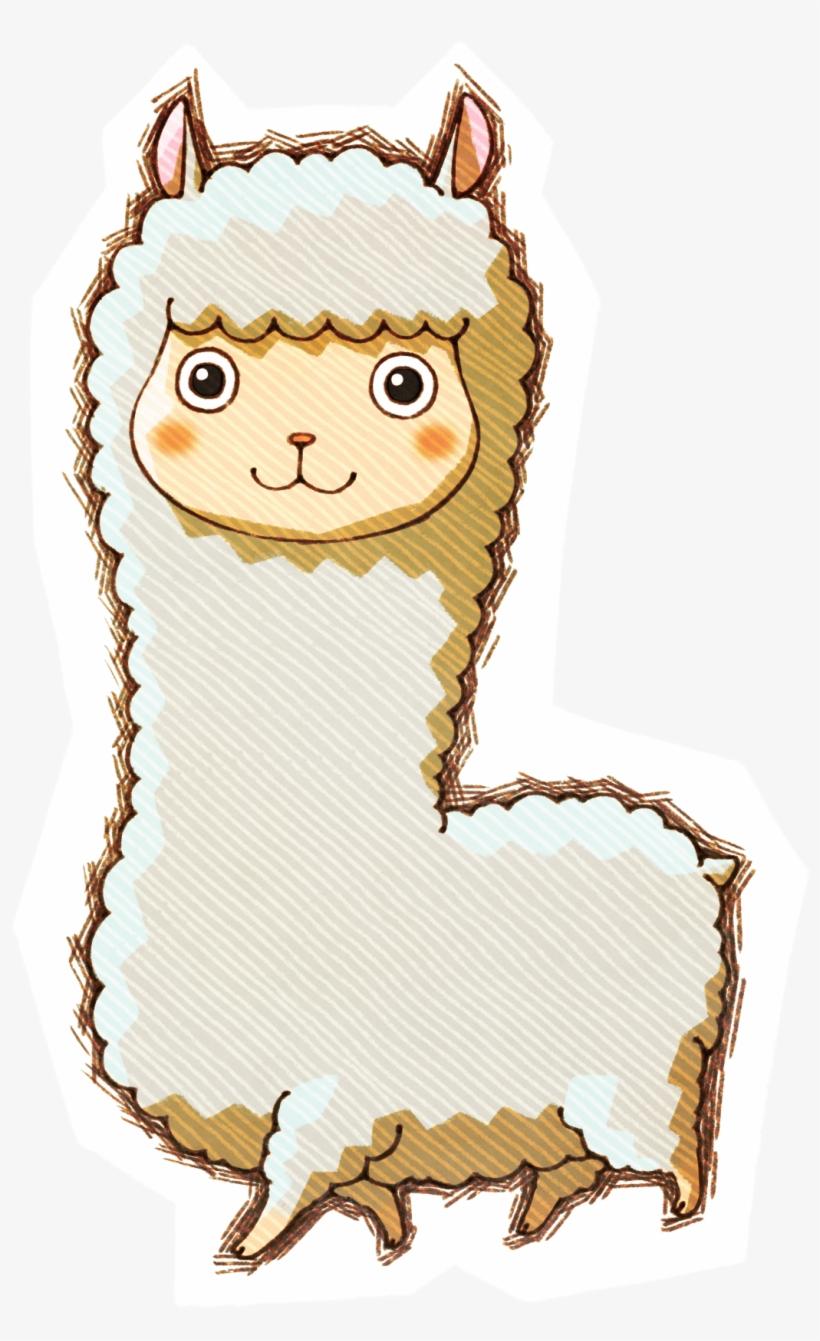 Alpaca Clipart Harvest Moon - Story Of Seasons Png ...