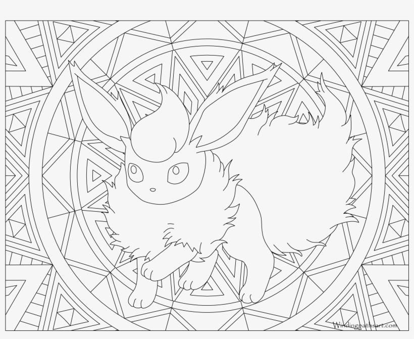 Flareon Eevee Evolutions Coloring Pages Printable - Suicune Coloring Page -  3300x2550 PNG Download - PNGkit