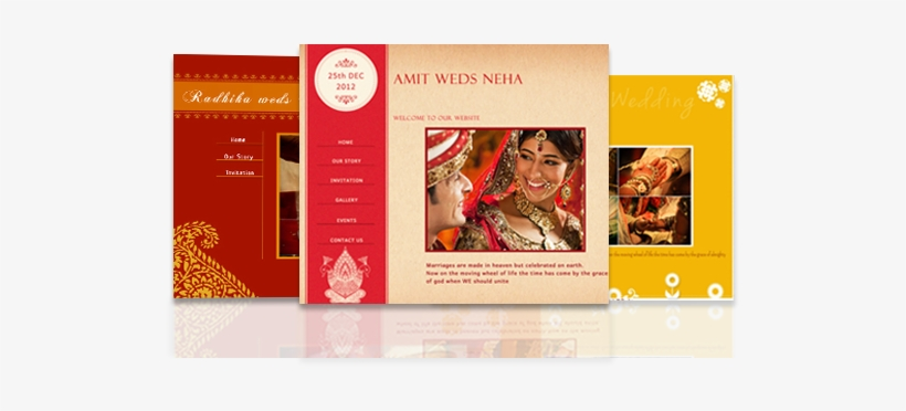 Free Wedding Invitation Websites With Indian Designs E Wedding