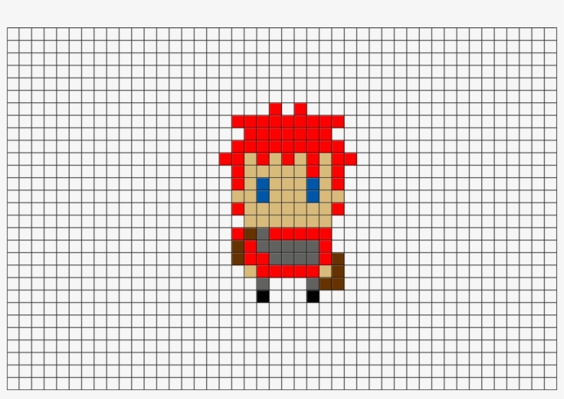 Naruto Gaara Pixel Art 880x581 Png Download Pngkit