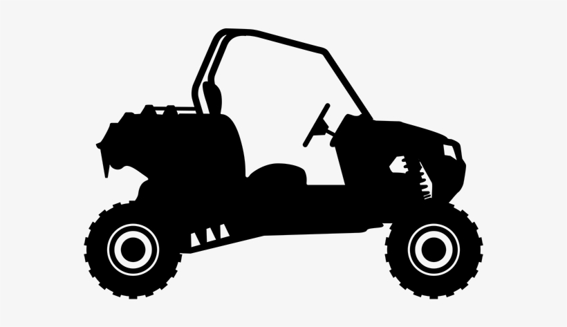 Atv Icon Side By Side Atv Silhouette 600x414 Png Download Pngkit