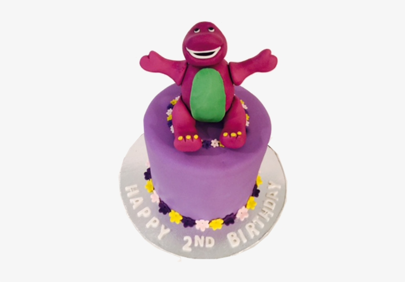 Swell Barney Birthday Cake Barney Birthday Cake Png 504X504 Png Personalised Birthday Cards Cominlily Jamesorg