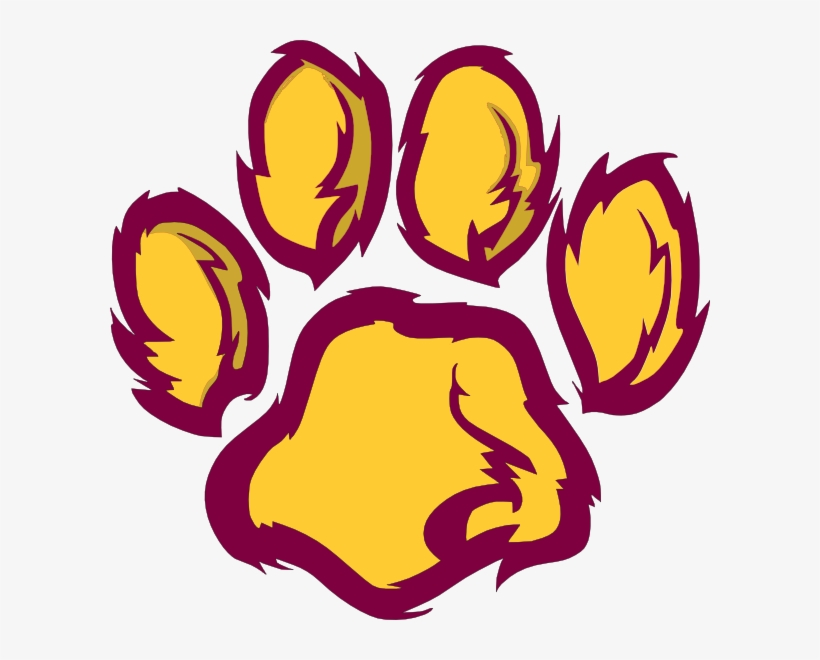 Purple Paw Print Clip Art Free Clipart Purple Paw Print Maroon And Gold Paw Print 600x580 Png Download Pngkit Paw print art, cat puppy dachshund paw printing, claws transparent background png clipart. purple paw print clip art free clipart