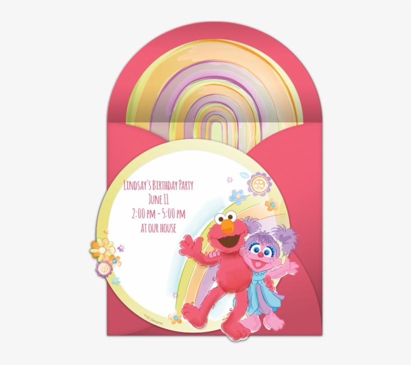 Elmo And Abby Online Invitation