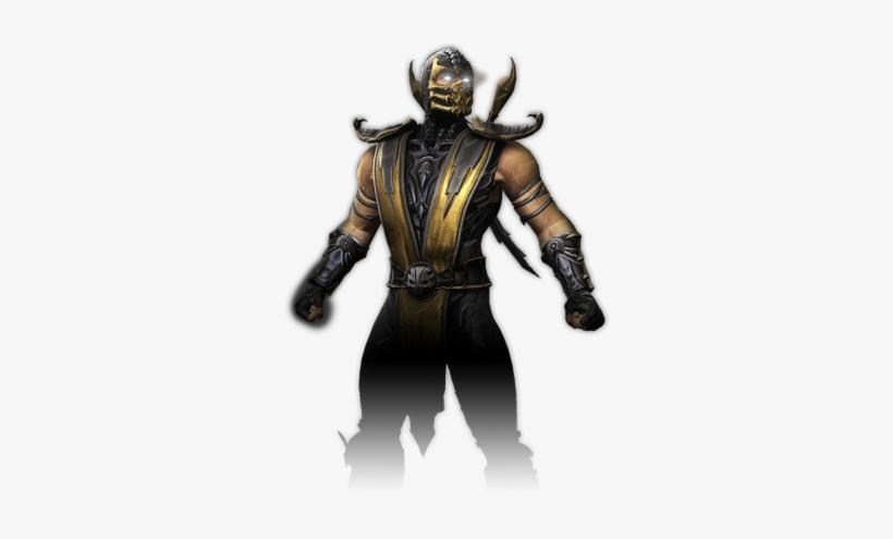 Scorpion Mortal Kombat Ninja Scorpion 300x415 Png Download