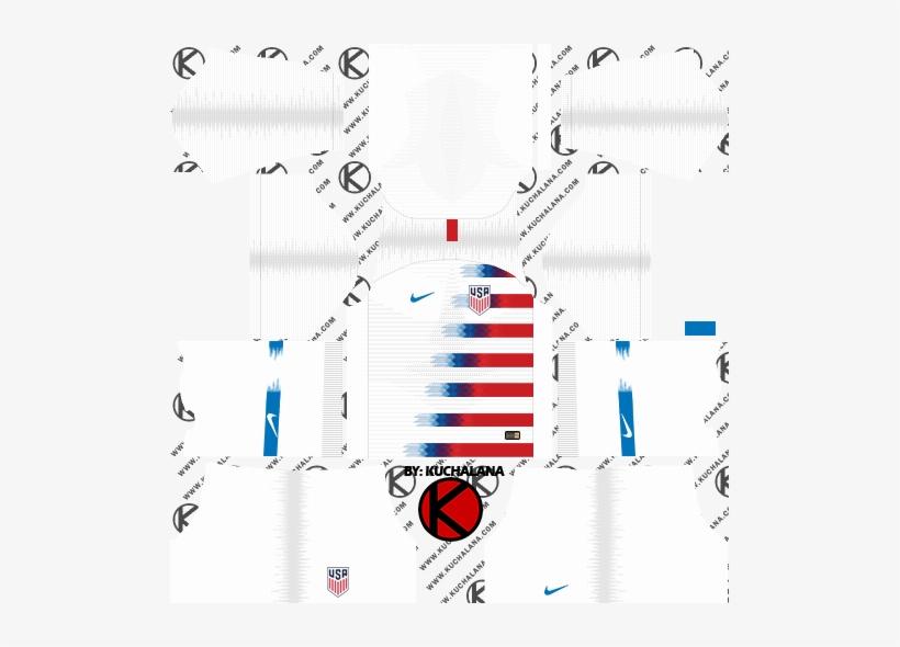 11db9e46bd8 The United State Usa 2018 World Cup Kit - Kit Psg Dream League Soccer 2019