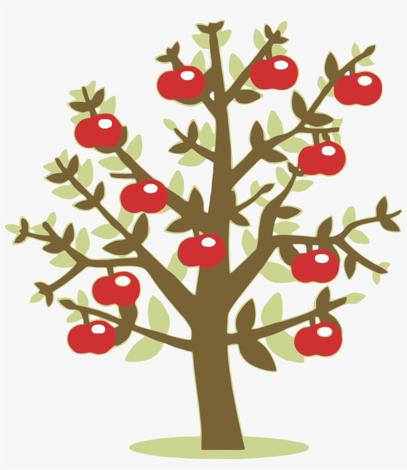 Green Tree Clipart Png Apple Tree Clipart Transparent 3248x3591